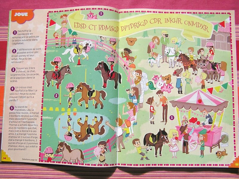 page double poneys