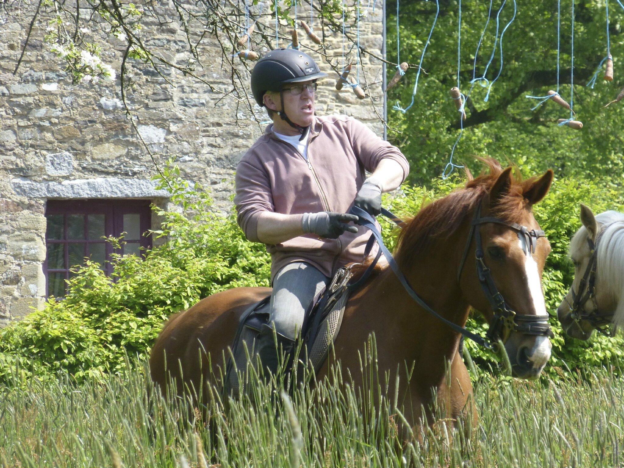 balade à cheval médiévale - Abbaye de Hambye (222)