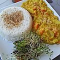 Cuisine: curry de coco (vgl)