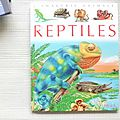 Les reptiles, collection la grande imagerie, éditions fleurus 1999