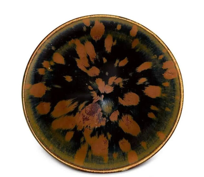 A Cizhou 'partridge feather' glazed bowl, Song dynasty (960-1127)