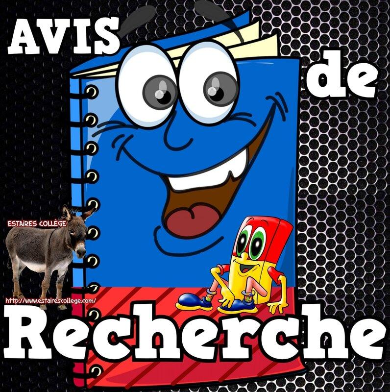 _ 0 ESTAIRES AViS de RECHERCHE 992