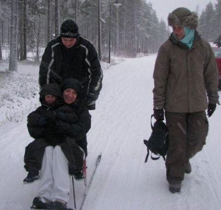 FINLANDE- LAPONIE- CERCLE POLAIRE 12