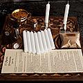 Rituels des dix bougies blanches magiques et mystiques d'amour