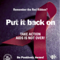 1/12 world aids day - journée mondiale de lutte contre le sida