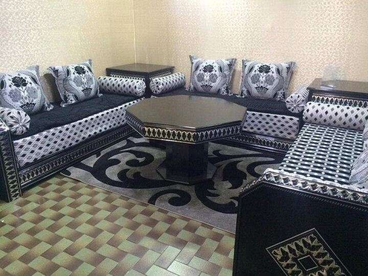 Salon marocain simple à vendre pas cher - Decomaro