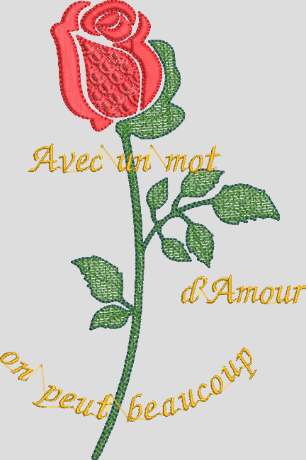 MA ROSE D AMOUR BY_MER