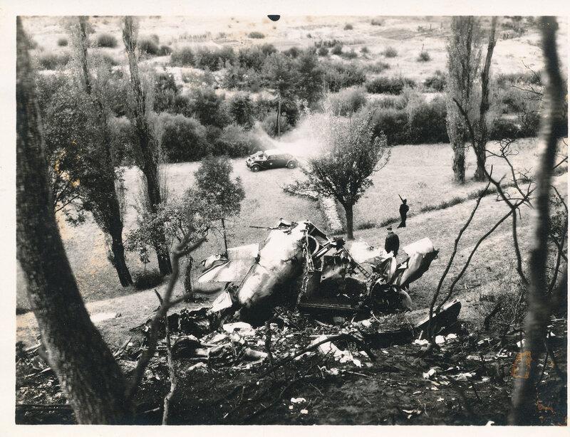 edmond garcia Martin Marauder B26,accident (2)