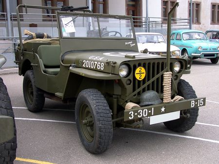 JEEP US Army Bourse Echanges Auto Moto de Chatenois 2009 3