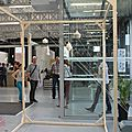 Salons objets textile/céramique - performance laura durandeux