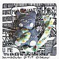 Defi n° 370 des sc and more: porte-bonheur, trèfle, etc....ici c'est un maneki neko qui tient un trèfle pour double de bonheur!