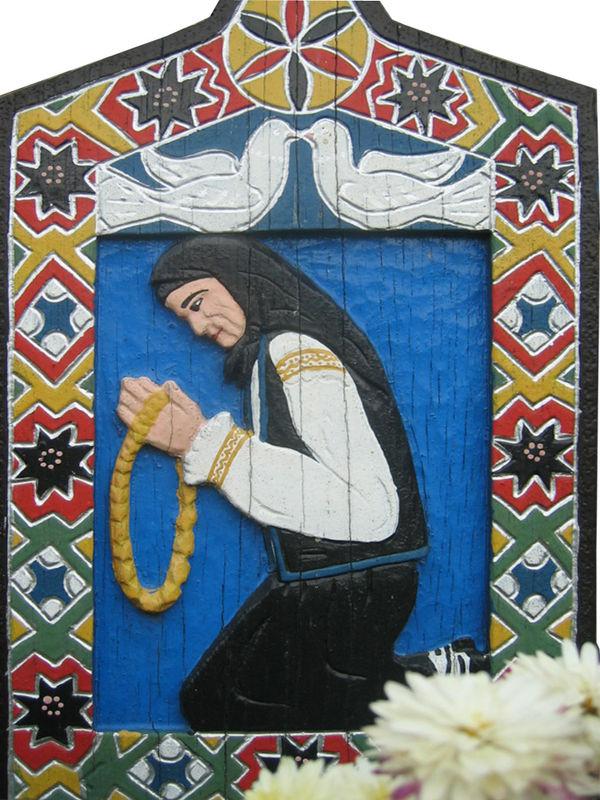SAPANTA Femme à la prière