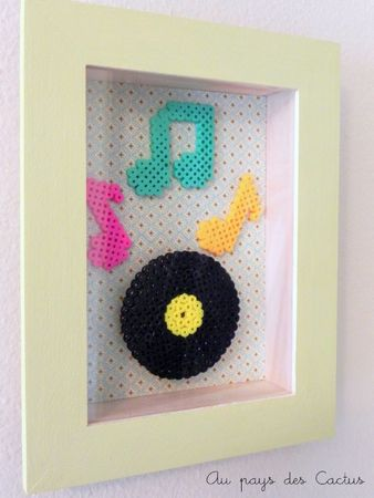 Cadres vinyl Au pays des Cactus