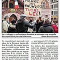 Indignés 11 novembre_L'Alsace