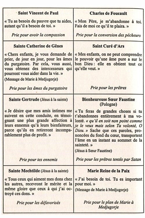 Saints et Saintes 4