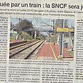 Colere! méfaits de la sncf en normandie... (suite): les trains tuent aussi les usagers normands!