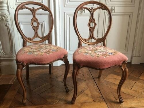 paire-de-chaises-d-epoque-napoleon-3 19 ieme siecle- photo by le guide des antiquaires 13086-MED