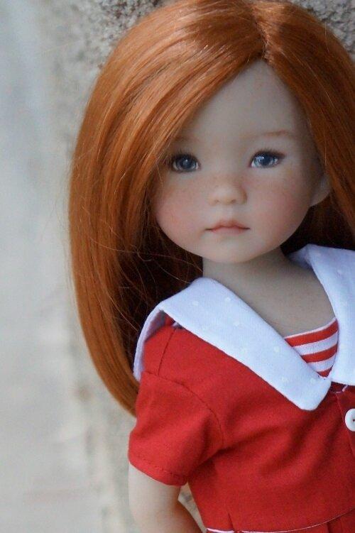 Mes Little Darlig habillées par les autres - Annie de Dianna Effner -