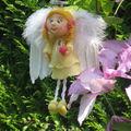 un ange caché dans mon jardin