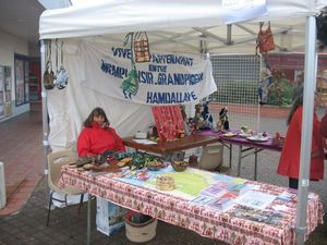 Stand tenu par Jacqueline au marché de Noël de Monplaisir2