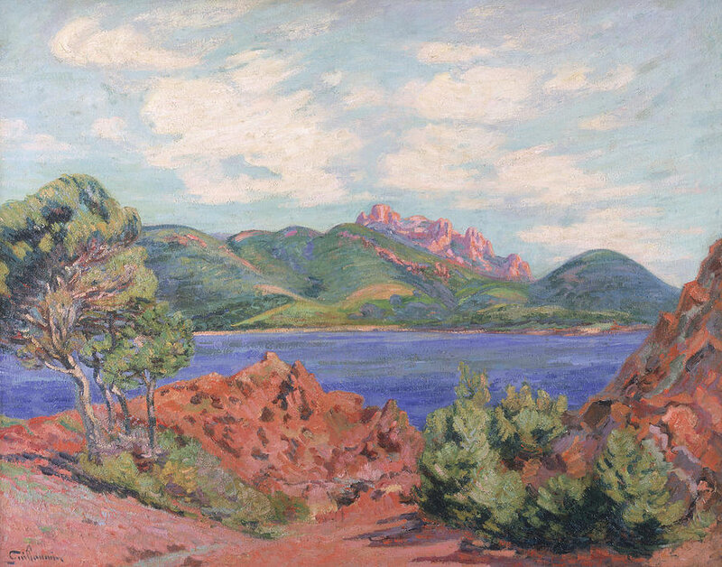 armand-guillauminthe-bay-of-agay