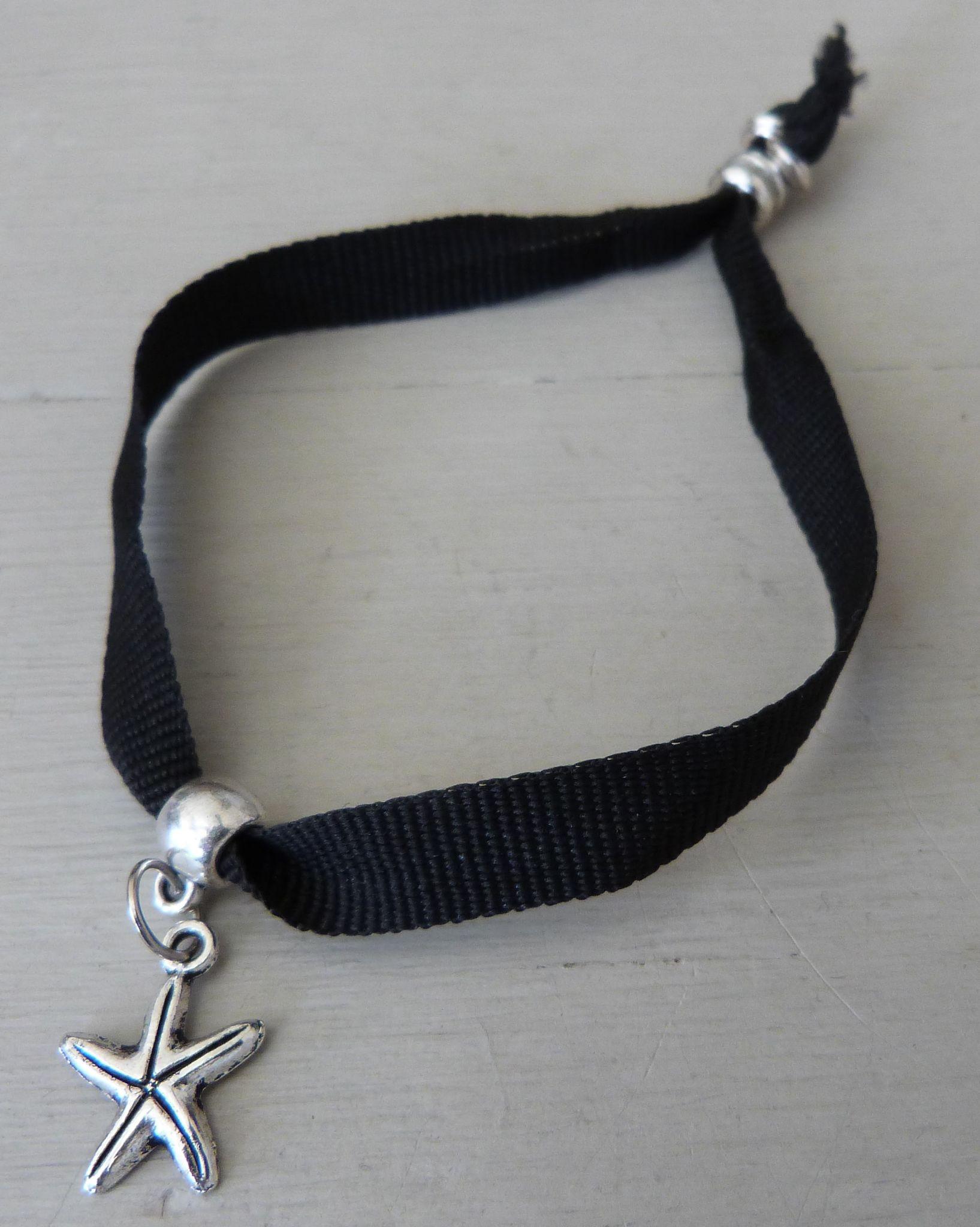Bracelet ruban Etoile