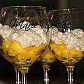 Perles du japon coco à la mangue et à la vanille