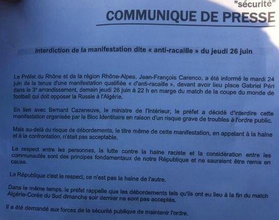Préfecture du Rhône juin 14