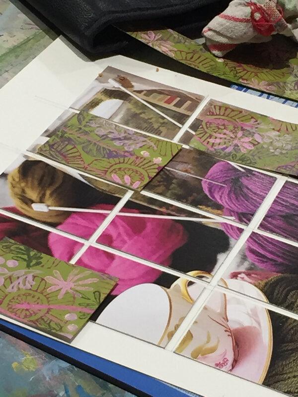 blog 19-10d-cours et stages-enseignement-formation-mosaïques de photos-encadrement de photos -atelier Cadrat Paris