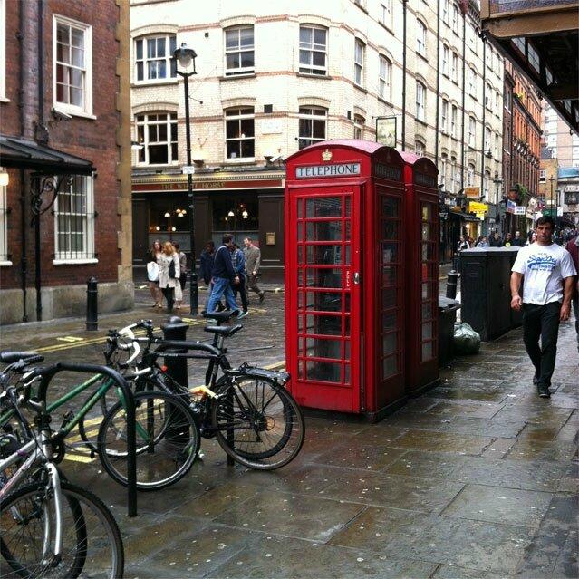 cabine-tel Londres