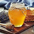 Traitement au miel, bouton de fièvre