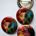 badges, éditions Anna Chanel