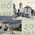 Mairie et église labergement-sainte-marie doubs