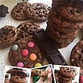 Cookies brownies démentiels