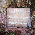 Bidarray, Grotte du Saint-qui-sue, entrée