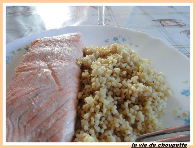 saumon au court-bouillon et perles de blé, boulghour-12