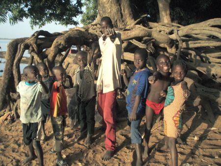 Groupe d'enfants SÉGOUKORO Mali