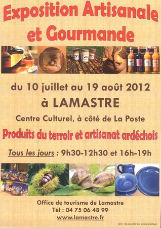 Affiche 2012 EAG-1