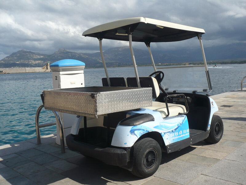 YAMAHA G19 voiturette de golf électrique Calvi (2)