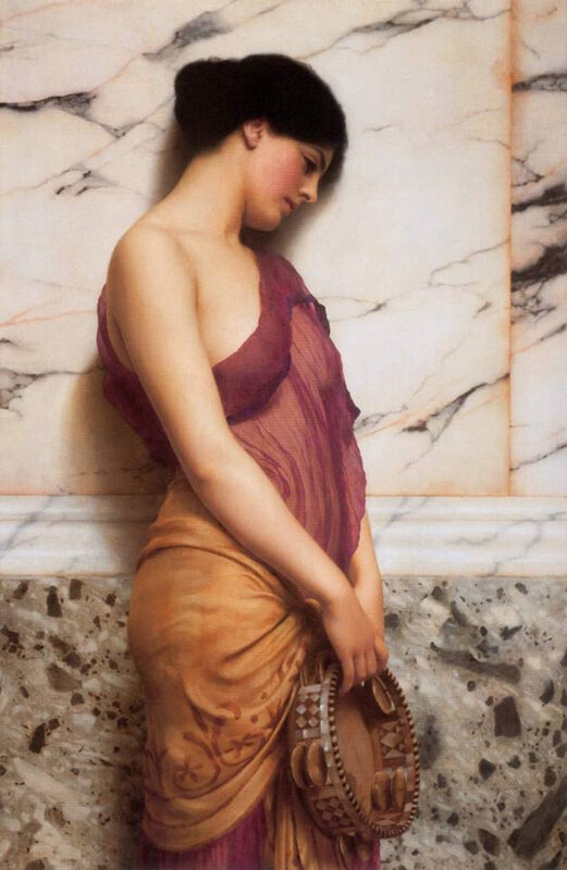 John William Godward 1906