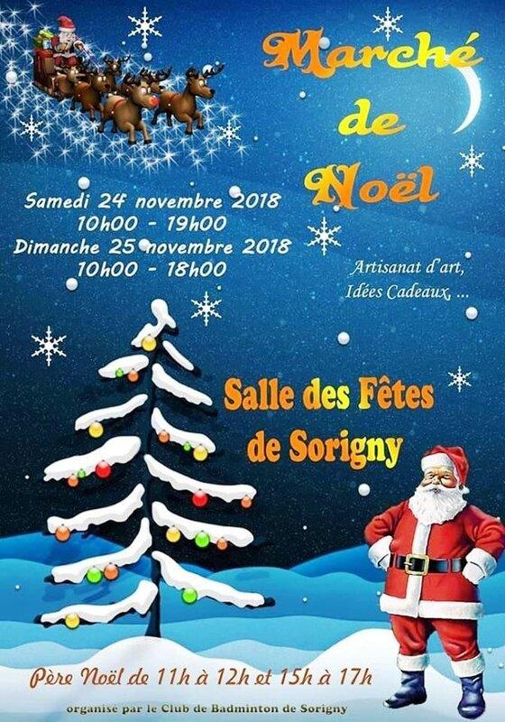 Marché Noël sorigny 2018