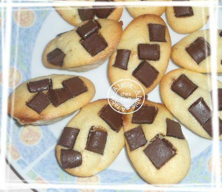 demi-oeufs aux chunks au chocolat