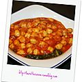Curry de pois chiches et oseille - tour en cuisine 94