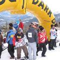 Départ du Dual Slalom avec Ricou et Julietta