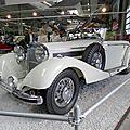 MERCEDES 540K W24 cabriolet B 1939 Sinsheim (1)