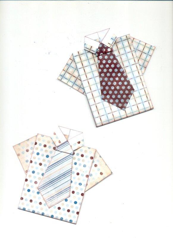 chemises origami
