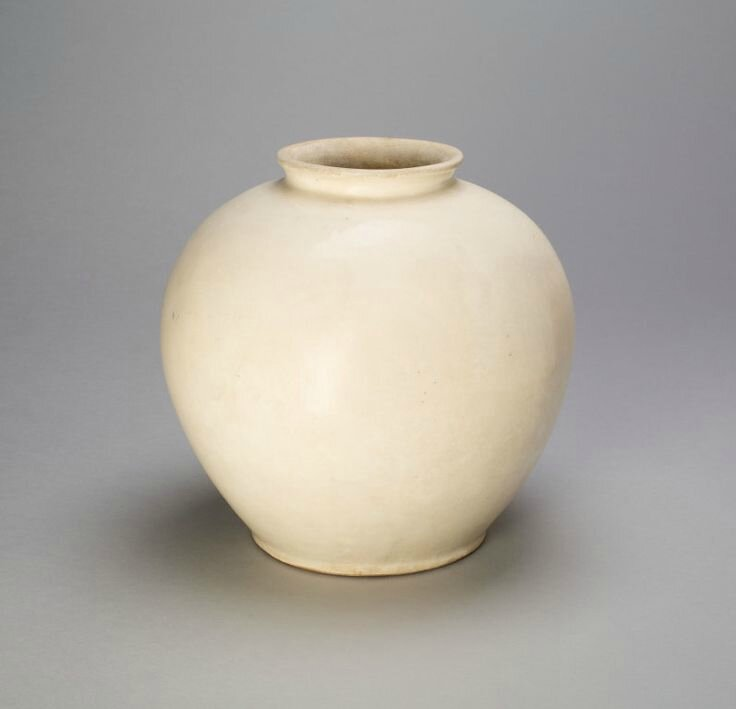 Ovoid Jar, Tang dynasty (618–907), 8th century