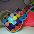 [ une guitare by chiffons & cie ]