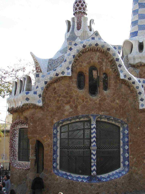 Parc Guell Caseta Guarda