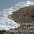 Esprit porté par le chuintement de la mer
